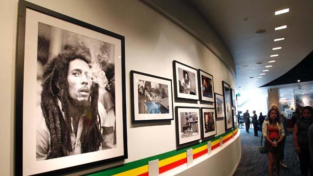 An exhibition on Bob Marley