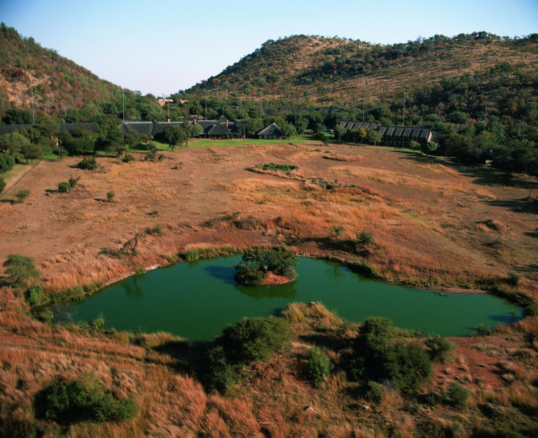 Aerial view at Bakubung Bush Lodge