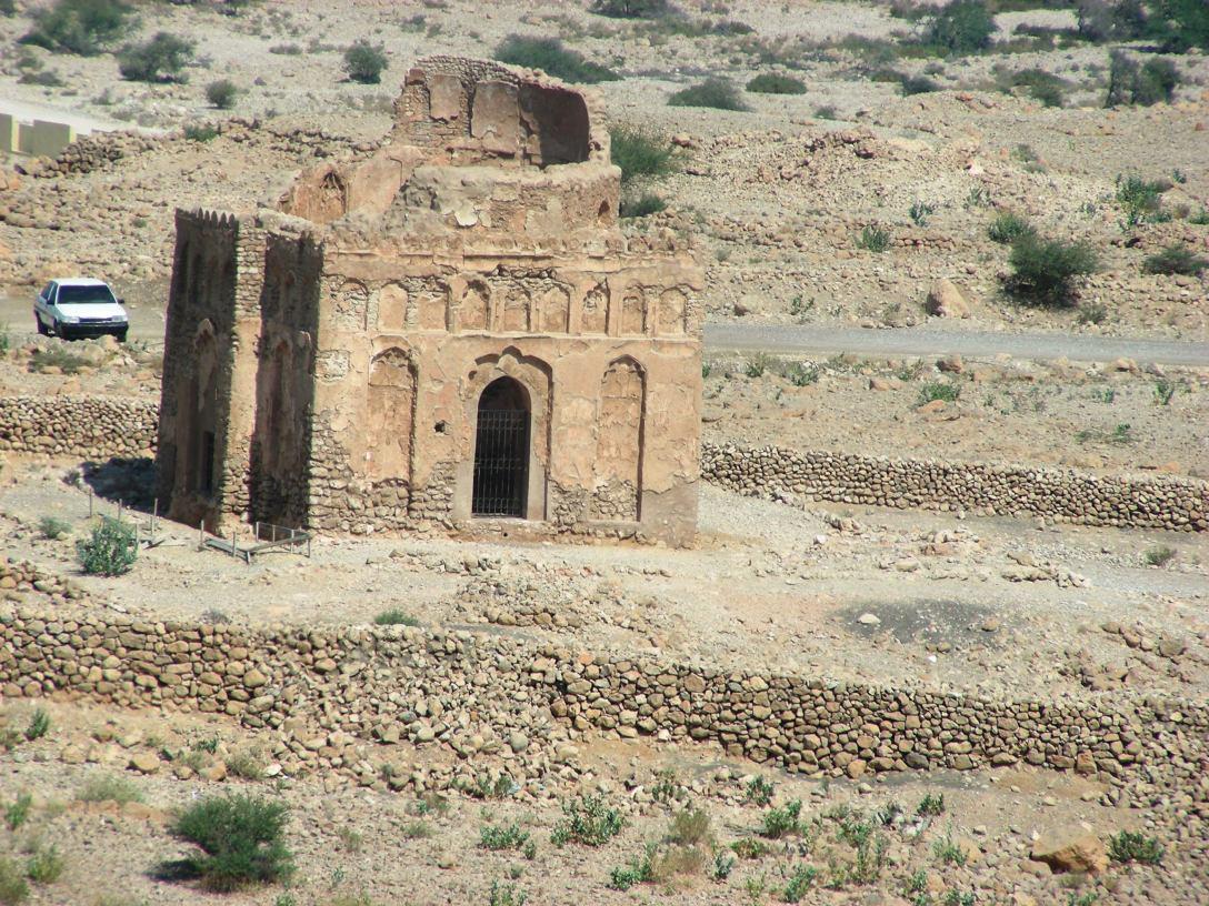 The Tomb of Bibi Maryam near Sur, Oman