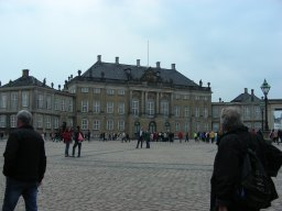 DENMARK's PRIDE–THE AMALIENBORG PALACE IN COPENHAGEN!
