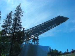 NORWAY's THRILL HILL–HOLMENKOLLEN!